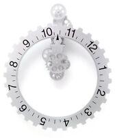 Kikkerland Big Wheel Revolving Wall Clock, New, Free Shipping on sale