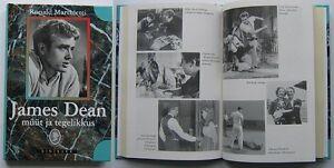 Moviestar-JAMES-DEAN-biography-ESTONIA-rare-book-1998