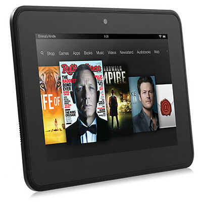 """Amazon Kindle Fire HD 16GB Wi-Fi Color eReader Tablet 7"""" Dual-Core Front HD Cam"""