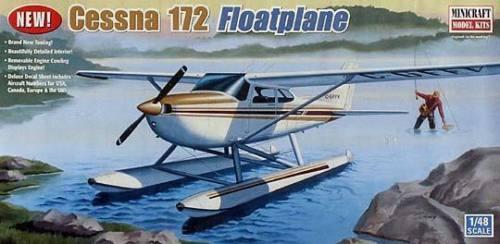 Cessna 172 floatplane (Kit Construcción Minicraft 11634) 1 48