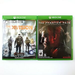 The Division & Metal Gear Solid V The Phantom Pain (Microsoft Xbox One) Tested
