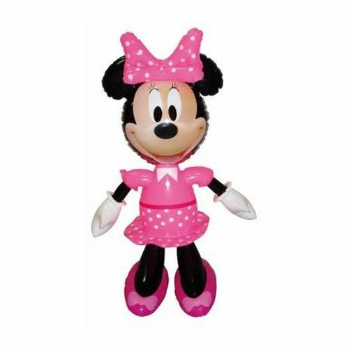 293d940f152e Minnie Mouse 49cm Tall Inflatable Toy Disney Character Kids 3 UK Delivery  for sale online