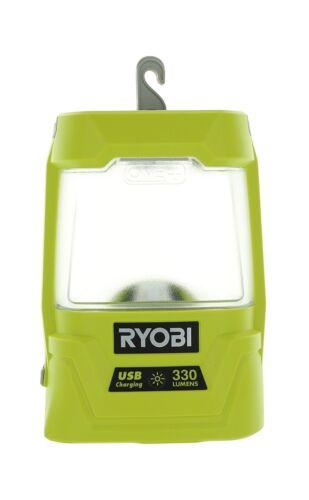 Ryobi P781 One 18V Lithium Ion 330 Lumen Cree LED Workshop Area Light w// USB...