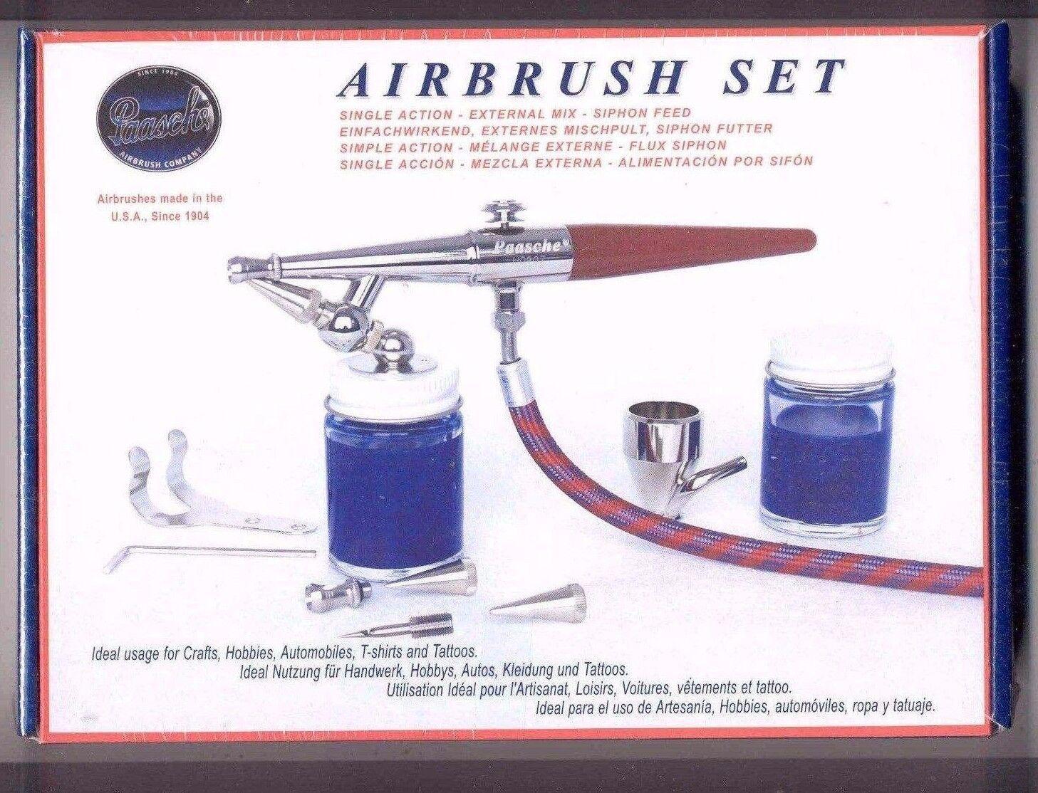 Paasche® VL Airbrush Kit - Single Action Set   00031
