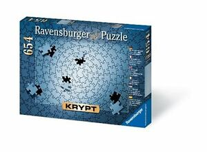 """Krypt Silver Blank Puzzle Challenge Indoor Board Game 654pcs - 38.75"""" x 15"""""""