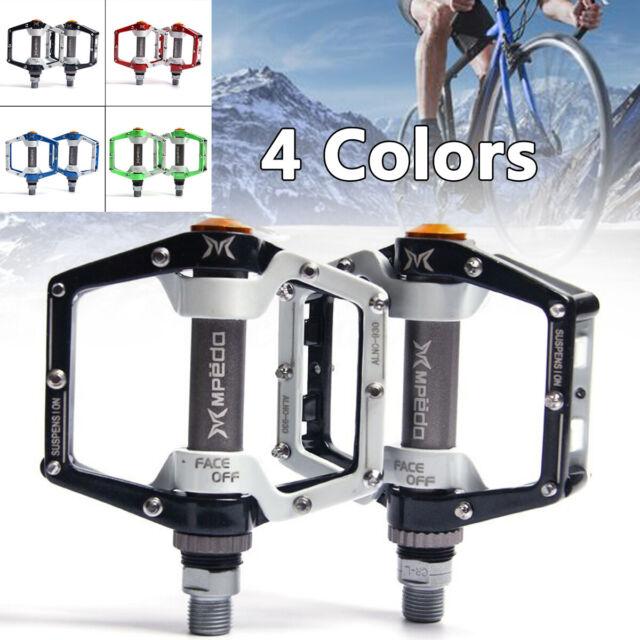MTB BMX Mountain /& Road Bike Pedal Magnesium Alloy 3 Bearing Flat Platform R1