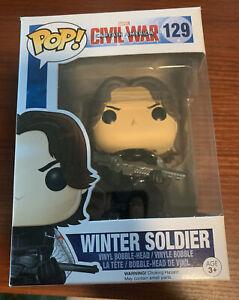 marvel funko pop Winter Soldier #129