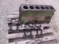 Oliver Super 77 S77 Tractor Engine Motor 185220 Block With Mampw More Power Pistons