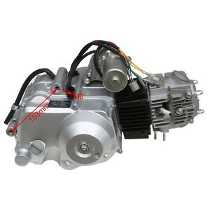 125cc engine motor 3 speed reverse semi auto replace. Black Bedroom Furniture Sets. Home Design Ideas