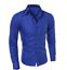 Men-039-s-Slim-Fit-Shirt-Long-Sleeve-Formal-Dress-Shirts-Casual-Shirts-Tops thumbnail 10