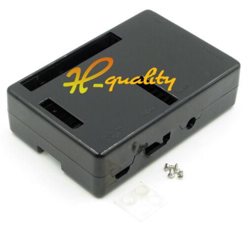 Premium Black Case Boxes Raspberry Pi 2 Model B Case Cover Enclosure Box ABS V2