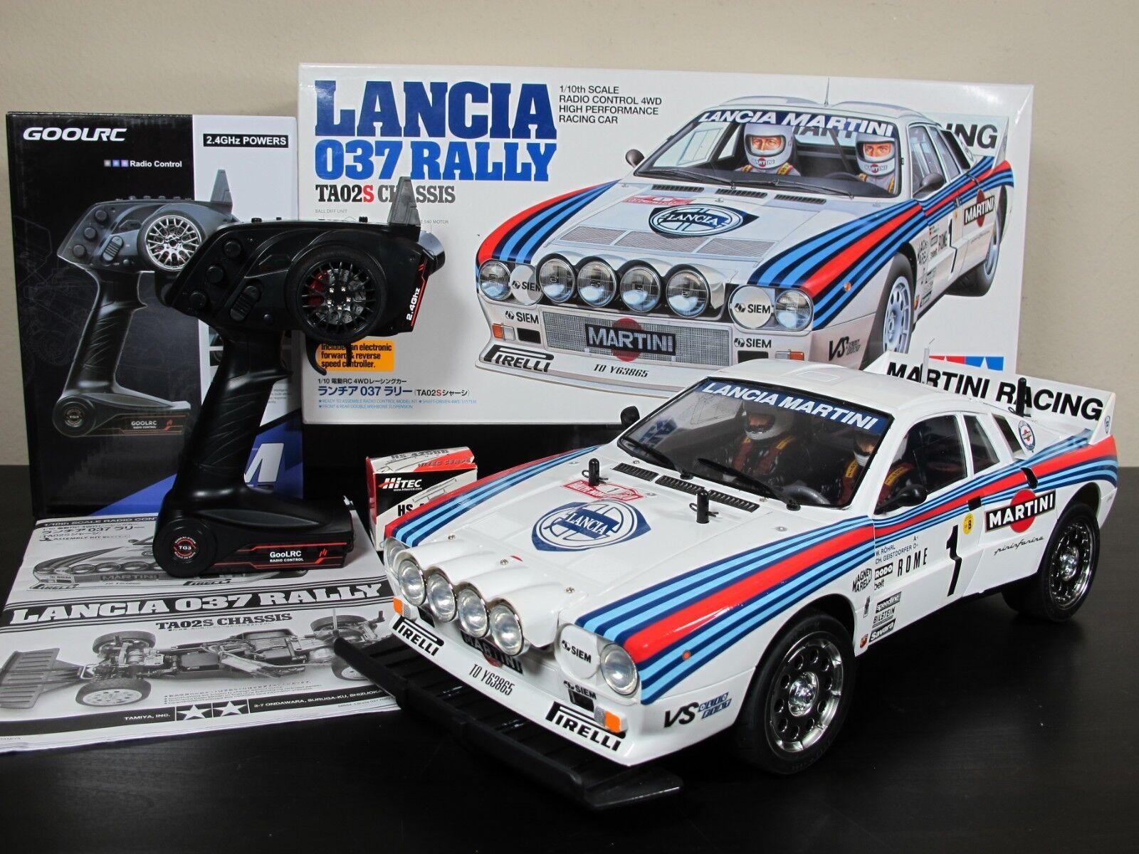 Neubau tamiya r   c 1   10 lancia 037 rally auto - ta-02s 58654 sender rtr