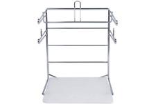 Ssw Basics Chrome T Shirt Shopping Bag Stand Store Holder Rack Grocery Bagging