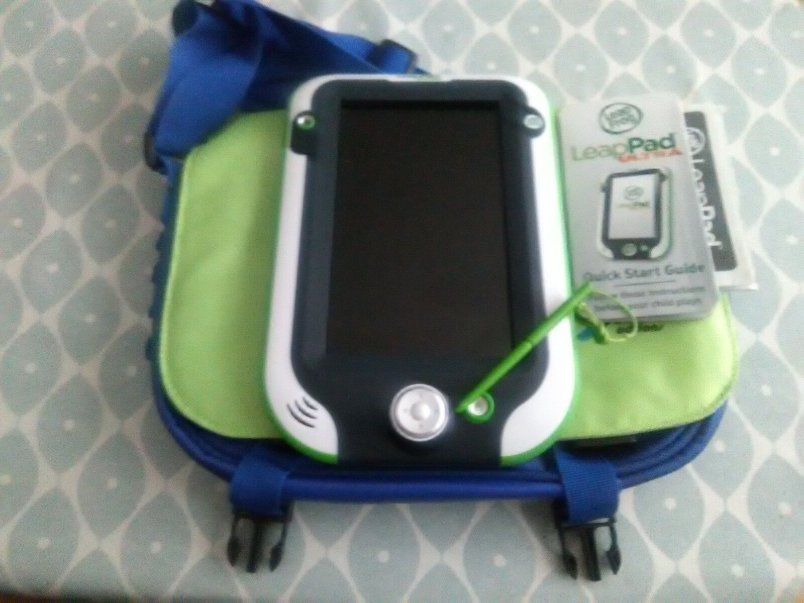 Leappad Ultra by Leapfrog - Green Tablet - With accessories