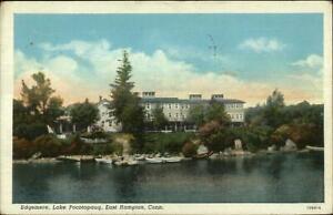 East-Hampton-CT-Lake-Pocotopaug-Edgemere-Postcard