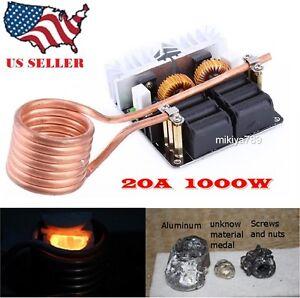 1000W ZVS Schematic 20A Low Voltage ZVS Induction Heating ...