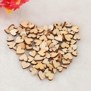 200-Mini-Small-Wooden-Mix-Rustic-Love-Heart-Wedding-Table-Scatter-Decoration-UK