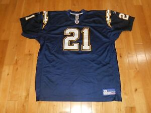06f9a0c4 Details about Vtg Reebok LADAINIAN TOMLINSON SAN DIEGO CHARGERS Authentic  NFL Team JERSEY 56
