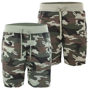 Bermuda Uomo Corto Pantaloncino Casual Verde Militare Shorts Slim Fit Sportivo