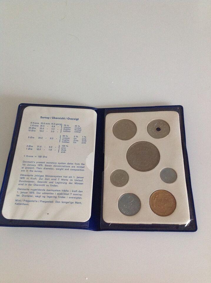 Danmark, mønter, 1972