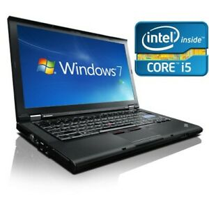 CHEAP-Laptop-Core-i5-Windows-7-Lenovo-Thinkpad-T410-4GB-memory-250GB-Open-Office