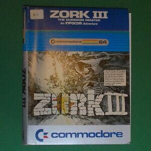 Commodore-C64-Disk-Infocom-Zork-3-III