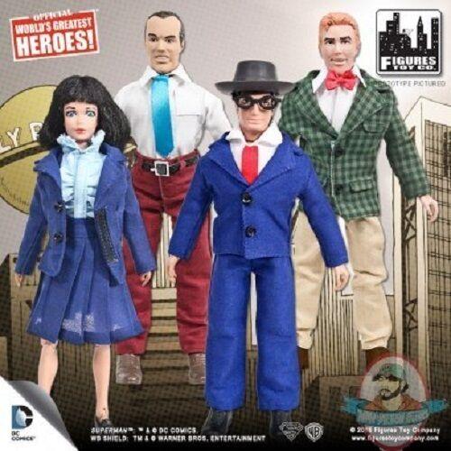 DC Retro 8  Superman Series 2 Set of 4 Figures Toy Company