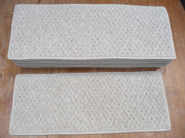 compra meglio 22 x 8.50 pollici (56 x 22 22 22 cm) BEIGE pedate delle scale CANDEGGINA DA PULIRE  4012  promozioni