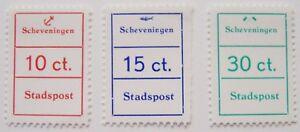 Stadspost-Den-Haag-1970-Serie-Cijferzegels-Scheveningen