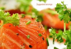 Gravlax Style Scottish Salmon Artisan Nordic Recipe 1kg 5 x 200g Packs