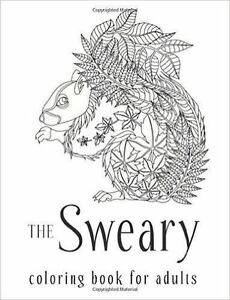 Swear Word Coloring Book The Sweary For Adults By