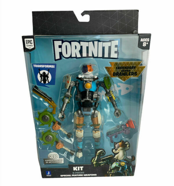 Fortnite Legendary Series Action Figures Epic Games Fortnite Legendary Series Brawlers Kit 7 Inch Action Figure Fnt0664 For Sale Online Ebay