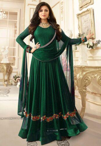 Indian Pakistani Salwar Kameez Suit Designer Party Wear Dress Suit Bollywood FM