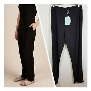 [ BLUE ILLUSION ] Womens Black Tapered Long Pants NEW + TAGS  | Size XL or AU 16