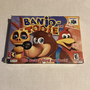 Banjo-Tooie-Box-Only-No-Game-Manual-Nintendo-64-N64-Authentic-Banjo-Tooie
