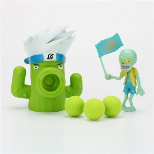Plants vs Zombies Peashooter PVC Action Figure Model Toy Children Kids Gifts New