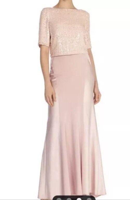 Bnwt ️CoastSize 14 Dera bluesh Pink Prom Party Slinky Maxi Skirt  Wedding New