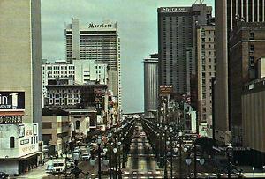 Canal Street New Orleans La Marriott Sheraton Hotel Jet Delta