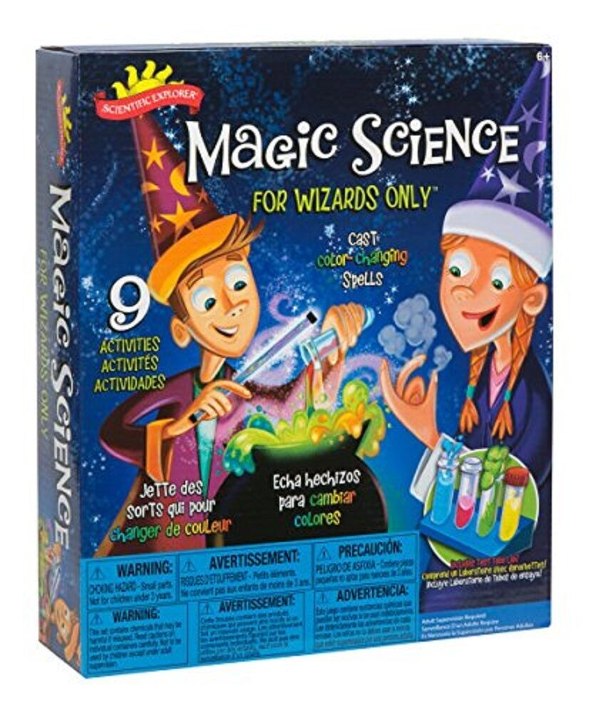Scientific Explorer Magic Science Wizards Science Project Kit Lab Ages 6+ Toy