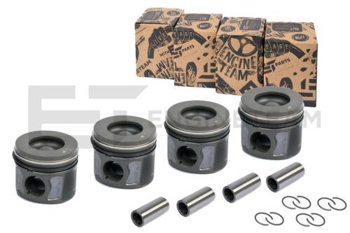 0,50 mm 4x Kolben PM004750 Ø 86,50 mm KH 48,42 mm CITROEN FORD 2,2 TDCi