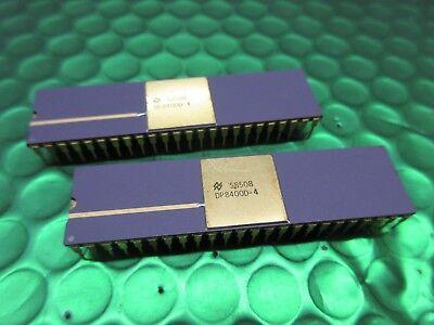 Circuito di interfaccia di memoria DP8400D-4 IC 48 Pin Viola in Ceramica Oro Top e gambe