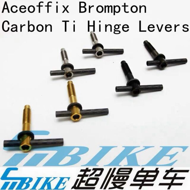 ACE Carbon Lightweight Hinge Clamp Plate for Brompton Bicycle folding bike