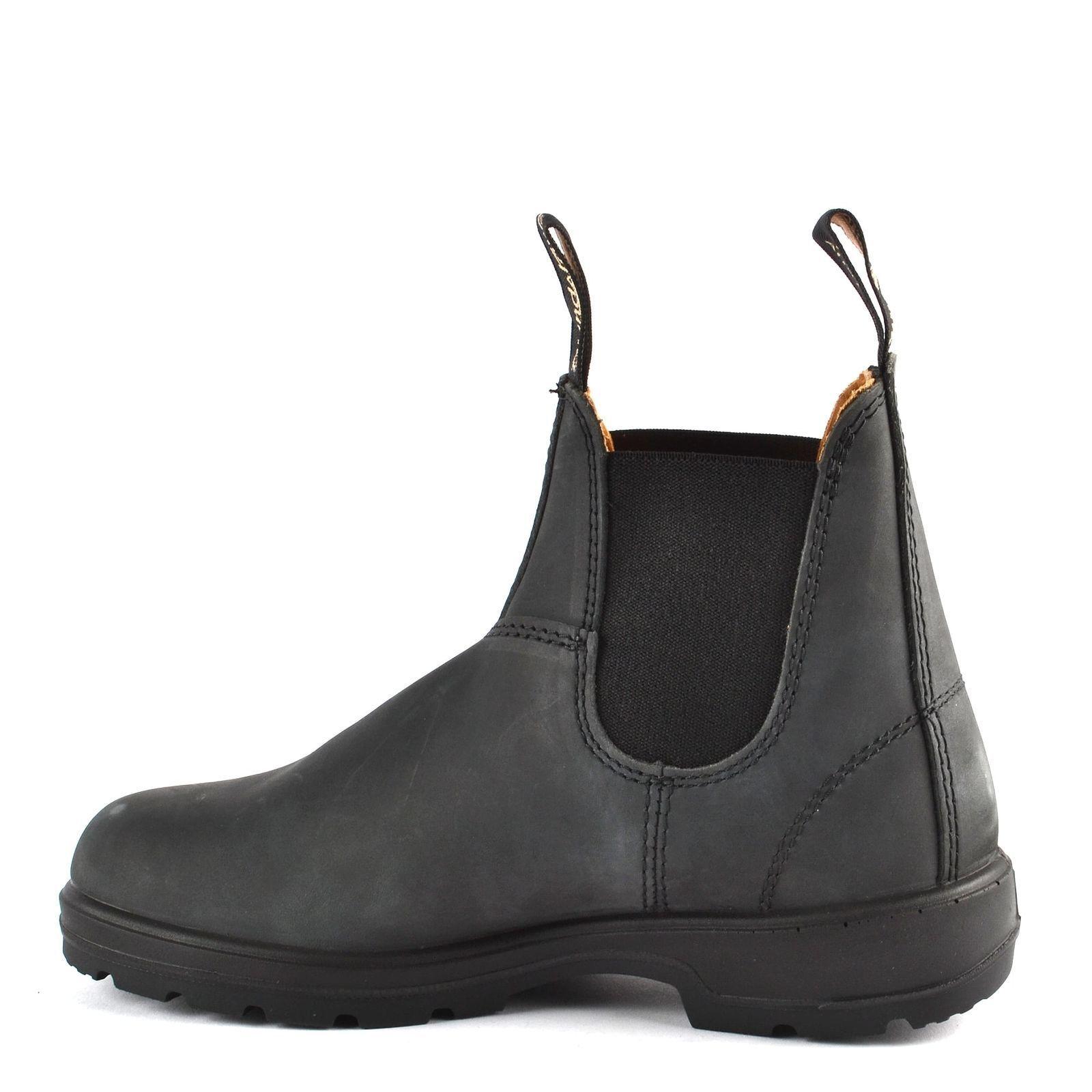 prima i clienti NUOVO stile Blundstone 587 Rustico Nero Pelle Stivali per per per le donne  nuovo di marca