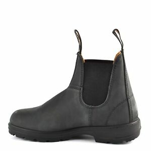 Rustic Women Boots For Style Leather Blundstone Ebay Black 587 New TSqwtPp6