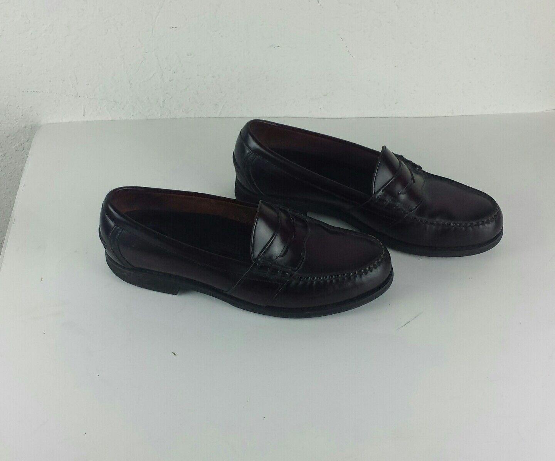 Rockport Para hombre Zapatos M modelo confort antideslizante vestido en vestido antideslizante de cuero e1ece9