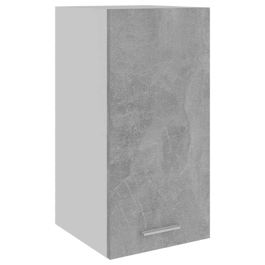 vidaXL Armario de Cocina de Aglomerado Gris Hormigón 29,5x31x60 cm Mobiliario