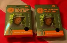 NO SEE UM HEADNET insect survival bugout bag emergency tactical gear equip UST 2