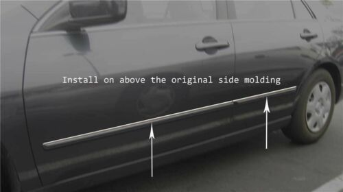 For Chevy AVALANCHE Chrome Body Side Molding Trim Kit 2001-2006**