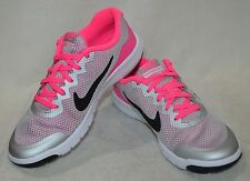 eb5c5f1bfb item 4 Nike Flex Experience 4 (GS) Silver/Black/Pink Girl's Running Shoes-Size  3.5 NWOB -Nike Flex Experience 4 (GS) Silver/Black/Pink Girl's Running ...