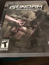 Mobile Suite Gundam: Crossfire - PlayStation 3 (PS3) - CIB Complete free ship